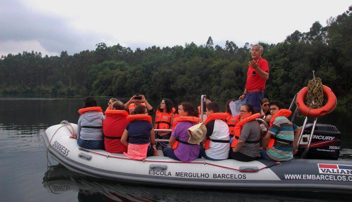 Turismo Nautico - passeio nas lagoas de Caíde